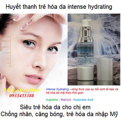 Huyết thanh siêu trẻ hóa da nhập Mỹ intense hydrating - Y khoa Kim Minh