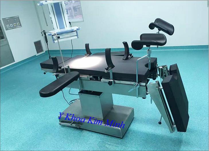 Cách thức hoạt động của giường mổ y tế chỉnh điện KDT-08A - Y Khoa Kim Minh