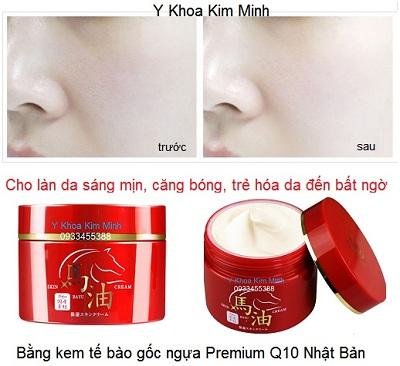 Kem giữ ẩm căng mịn trẻ hoá sáng da làm từ tế bào gốc Nhau thai nhựa Q10 Nhật Bản - Y Khoa Kim Minh