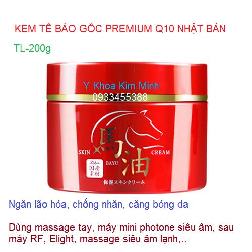 Kem tế bào gốc Q10 Premium chuyên dùng dưỡng da lão hóa chảy sệ Nhật Bản - Y Khoa Kim Minh