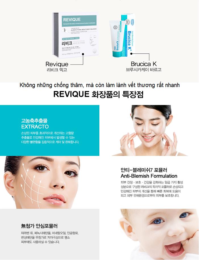 Brucica K+, kem chống  thâm da và làm lành vết thương nhập khẩu Hàn Quốc