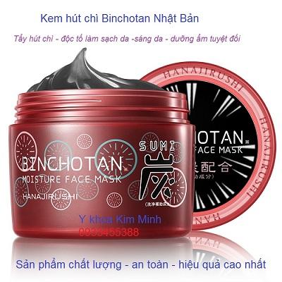 Kem hút chì đào thải độc tố Binchotan làm từ than đen và tảo Nhật Bản - Y khoa Kim Minh