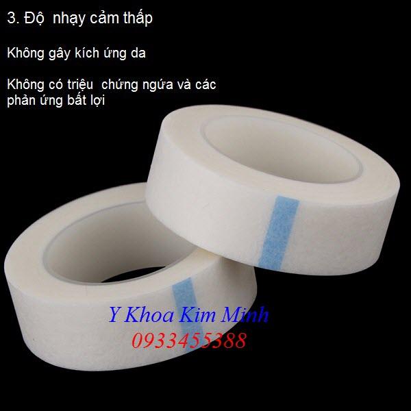 Keo lụa dán mi dùng trong ngành trang điểm và che mắt khi bắn laser Elight - Y khoa Kim Minh 0933455388