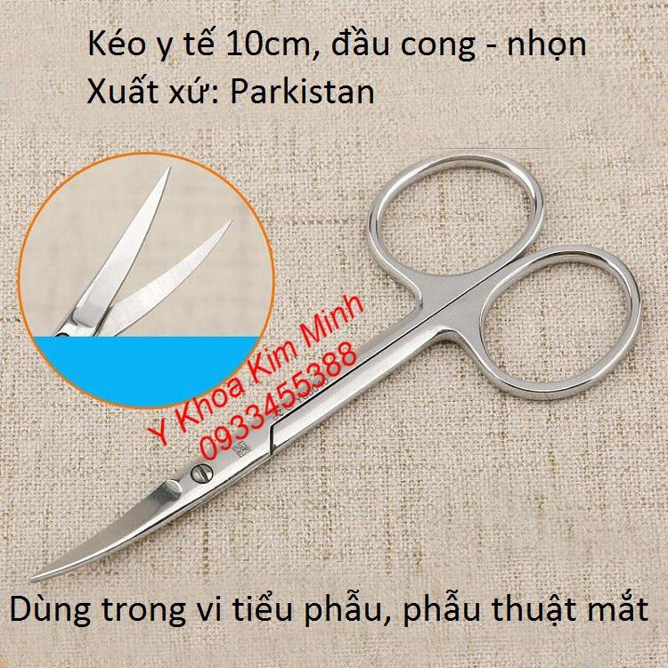 Kéo cắt mí mắt, phẫu thuật mắt, vi tiểu phẫu thẩm mỹ - Y Khoa Kim Minh