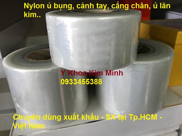 Keo nilon quấn chân, lưng ủ sáp paraffin điều trị giảm đau - Y khoa Kim Minh