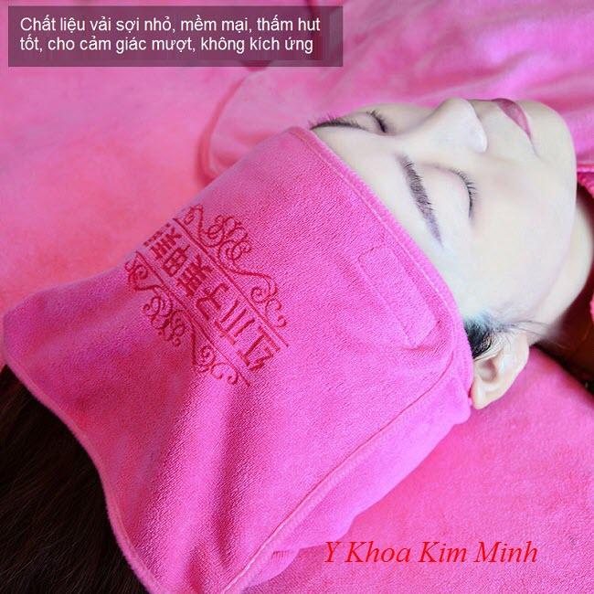 Bán khăn choàng đầu, băng đô spa tại Tp Hồ Chí Minh - Y Khoa Kim Minh 0933455388