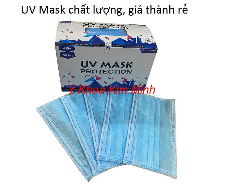 Nơi bán khẩu trang y tế kháng khuẩn giá rẻ UV Mask - Y Khoa Kim Minh