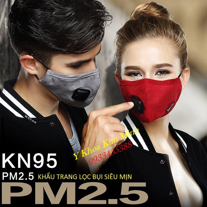 Khau trang co bo loc bui sieu min PN-95 PM2.5 ban gia si tai Tp Ho Chi Minh - Y Khoa Kim Minh