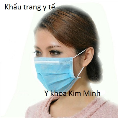 Khẩu trang y tế 4 lớp có lớp kháng khuẩn có giấy đăng ký chất lượng sản phẩm - Y Khoa Kim Minh