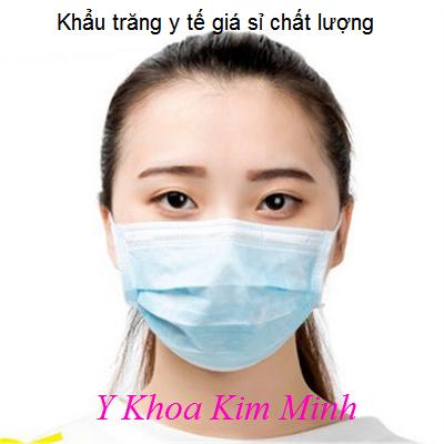 Khẩu trăng y tế giả sỉ chất lượng Medical Face Mask Bảo Thạch, Medi Pro, khẩu trang than hoat tinh - Y khoa Kim Minh