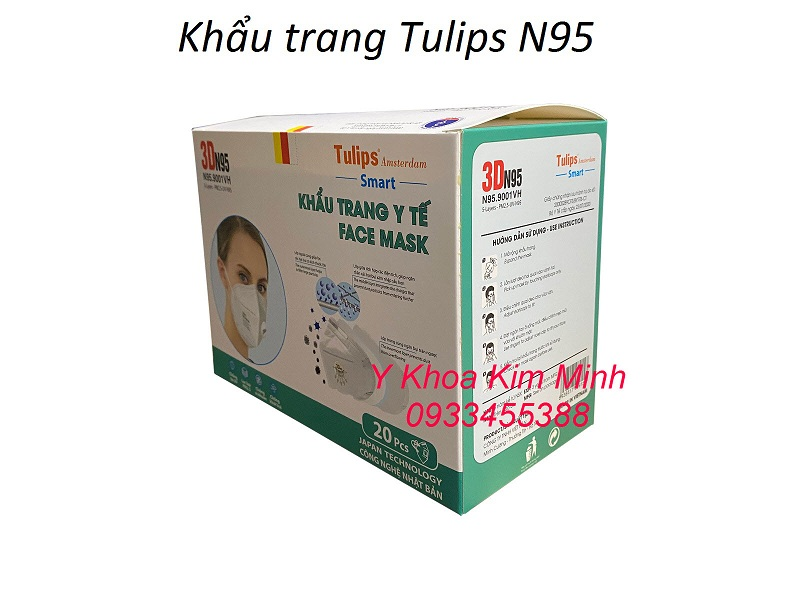 Khẩu trang y tế Tulips bán giá sỉ tại Tp.HCM