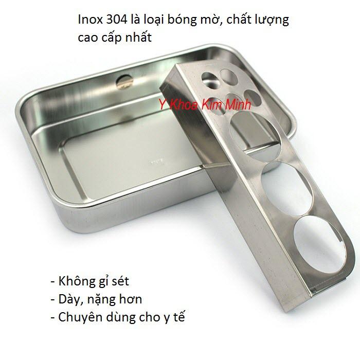 Y khoa Kim Minh cung cấp các loại khay inox, chén chậu inox dùng trong y tế - Y khoa Kim Minh