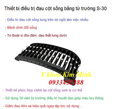 Khung dieu tri dau cot song lung va veo cot song - Y khoa Kim Minh 0933455388
