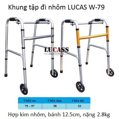 Khung tap di W-79 LUCAS bán tại Y khoa Kim Minh