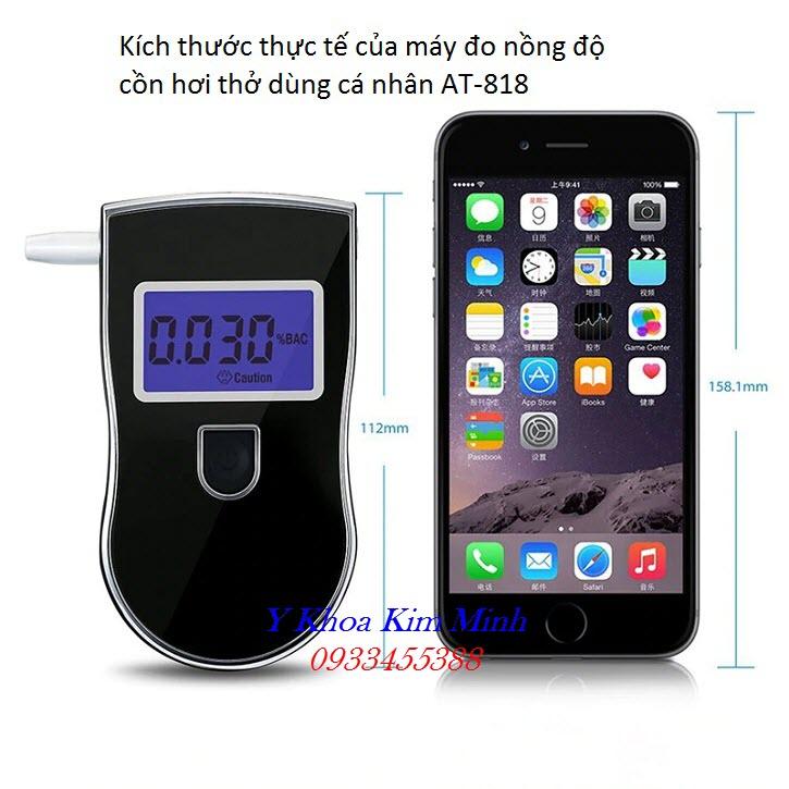 Thông số kỹ thuật, chức năng của máy đo nồng độ cồn hơi thở AT-818 - Y khoa Kim Minh
