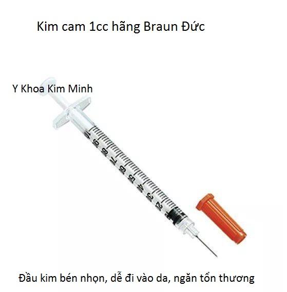 Kim cam 1cc chuyên dùng tiêm chích mỹ phẩm làm đẹp dùng cho thẩm mỹ viện spa - Y khoa Kim Minh