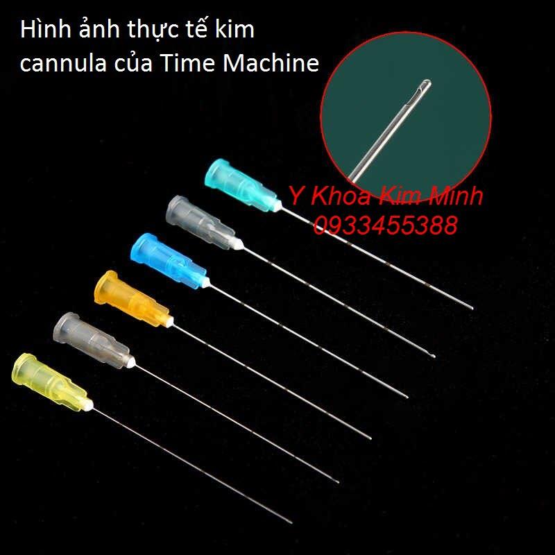 Hình ảnh thực tế kim cannula Time Machine chuyên dùng cho thẩm mỹ - Y khoa Kim Minh