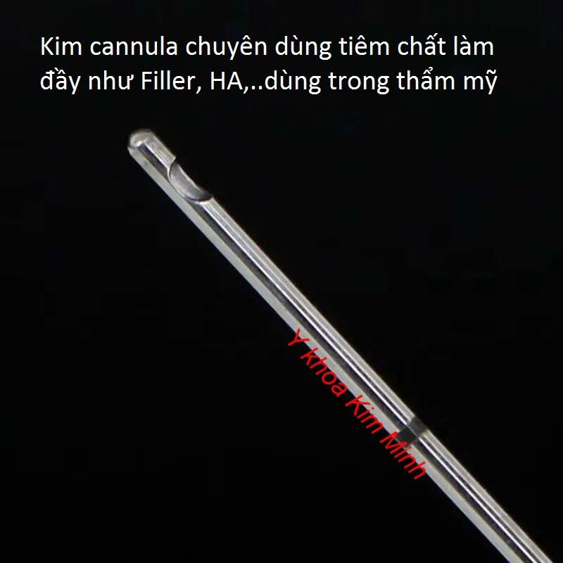 Tiem chat lam day, filler, HA bang kim cannula - Y Khoa Kim Minh