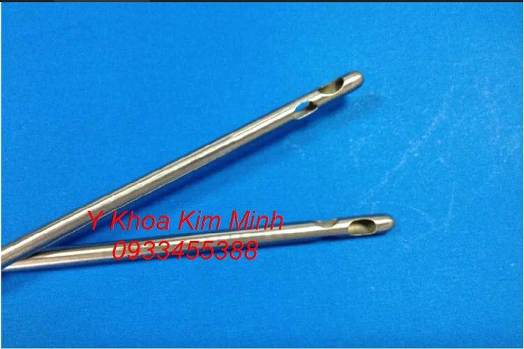 Kim hút mỡ 3 lỗ, kim cannula dùng hút mỡ bụng bác sĩ phẫu thuật thẩm mỹ hay sử dụng