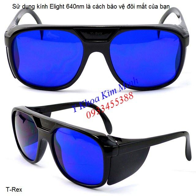 Kính triệt lông máy Elight 640nm xanh dương - Y Khoa Kim Minh 0933455388