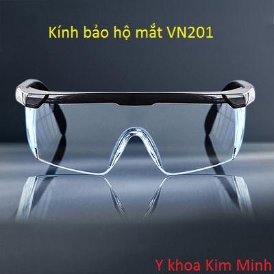 Kính bảo hộ mắt dùng trong y tế, sản xuất phòng chống dịch bệnh lây nhiễm virus - Y khoa Kim Minh