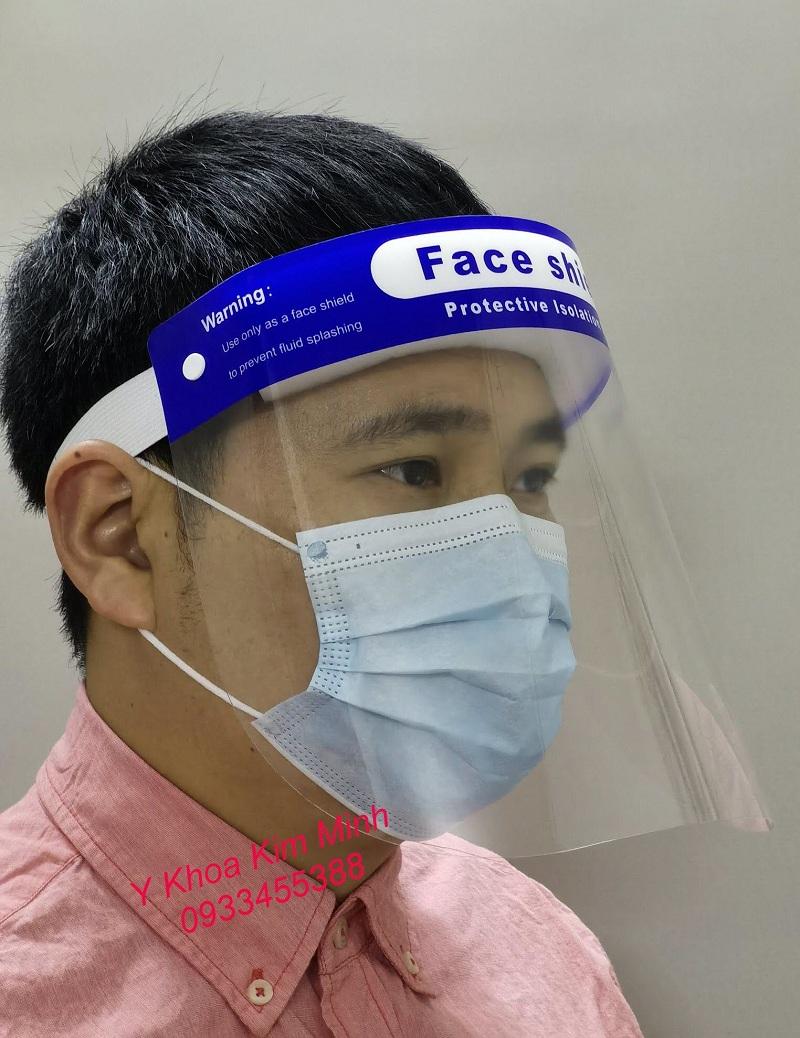 Kính chắn giọt bắn Face Shield bán giá sỉ tại Tp.HCM