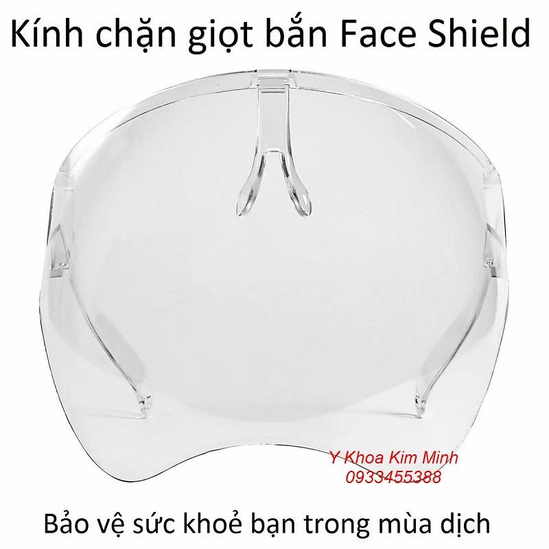Kính chống giọt bắn ngừa virus Face Shield bán tại Y Khoa Kim Minh