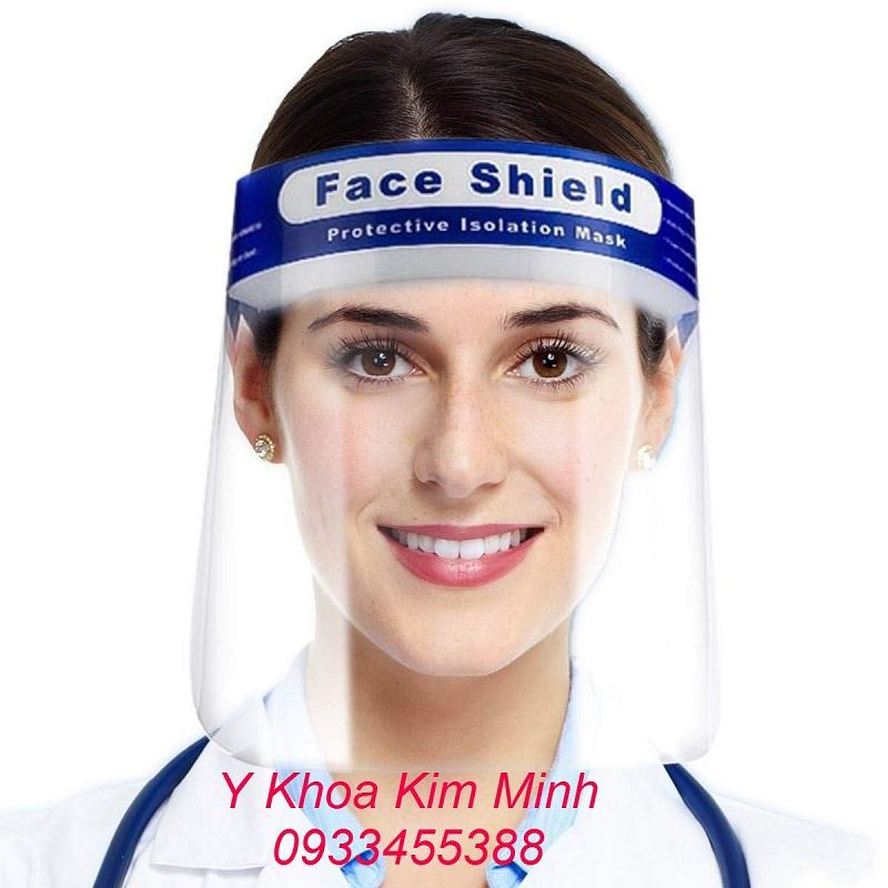 Kính Face Shield bán giá sỉ số lượng tại Y Khoa Kim Minh