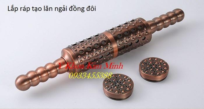 Lắp ráp tạo ra con lăn ngải đồng đôi chữa bệnh vùng lưng - Y Khoa Kim Minh