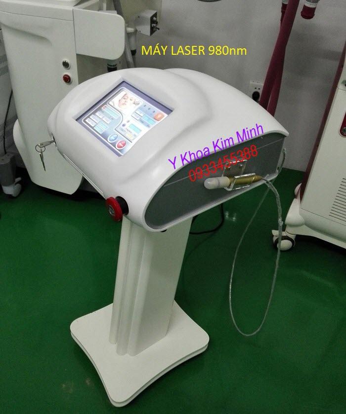 Laser 980nm treatment Spide Vein Removal Machine - Y Khoa Kim Minh