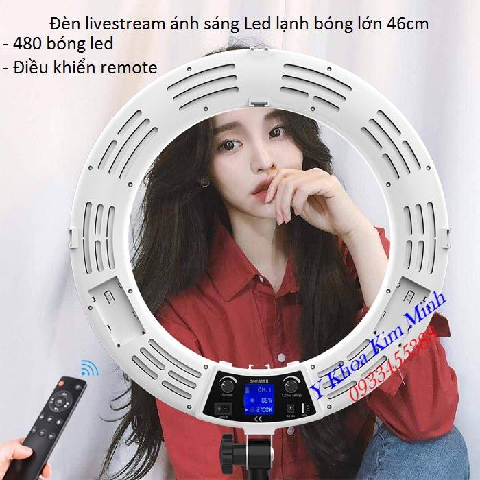 Den Livestream ánh sáng Led lạnh bóng tròn đường kính 46cm KM-88-II - Y Khoa kim Minh