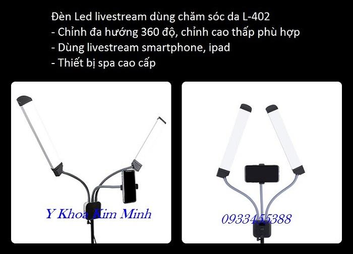 Led Light for Livestream supply in VietNam, L-402 - Y khoa Kim Minh