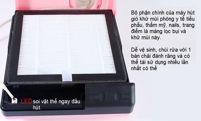 Màn lọc khí khử mùi của máy F1M - Y khoa Kim Minh 0933455388