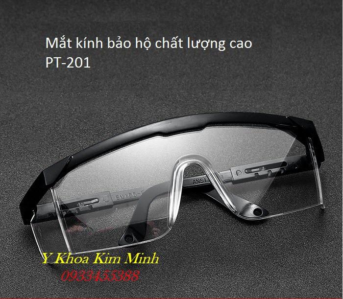 Kính bảo hộ mắt cho nhân viên y tế PT-201 bán tại Tp Hồ Chí Minh - Y Khoa Kim Minh