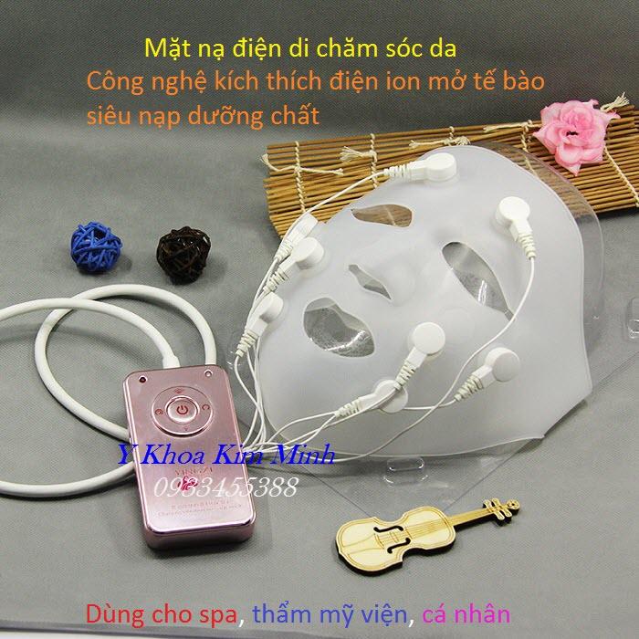 Mặt nạ điện di đẩy dưỡng chất hấp thụ serum mỹ phẩm YZ-8008-II bán tại Tp Hồ Chí Minh - Y Khoa Kim Minh