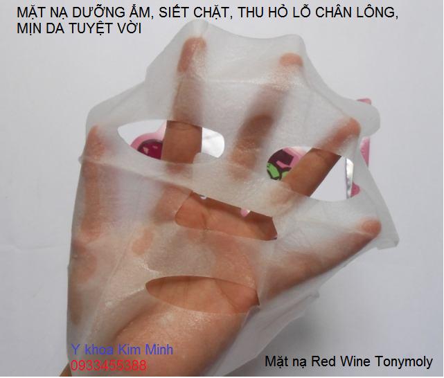 Mat na dap mat duong da thu nho lo chan long san chac min da Red Wine Tonymoly Korea - Y khoa Kim Minh 0933455388