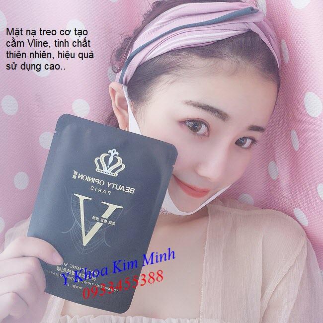 Mặt nạ tạo cằm Vline, mat na treo co - Y Khoa Kim Minh 0933455388