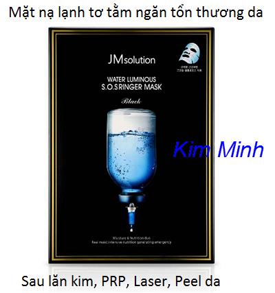 Mặt nạ tơ tằm lạnh JM Solution Mask sử dụng làm dịu da sau lăn kim, bắn laser, peel thay da, PRP - Y khoa Kim Minh