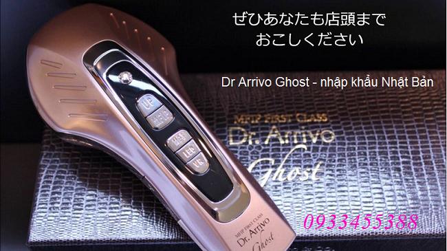 Máy Dr Arrivo Ghost nhập khẩu Nhật Bản, bán tại Y khoa Kim Minh