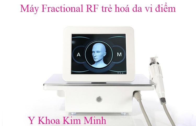 Máy trẻ hoá da vi điễm Fractional RF - Y khoa Kim Minh