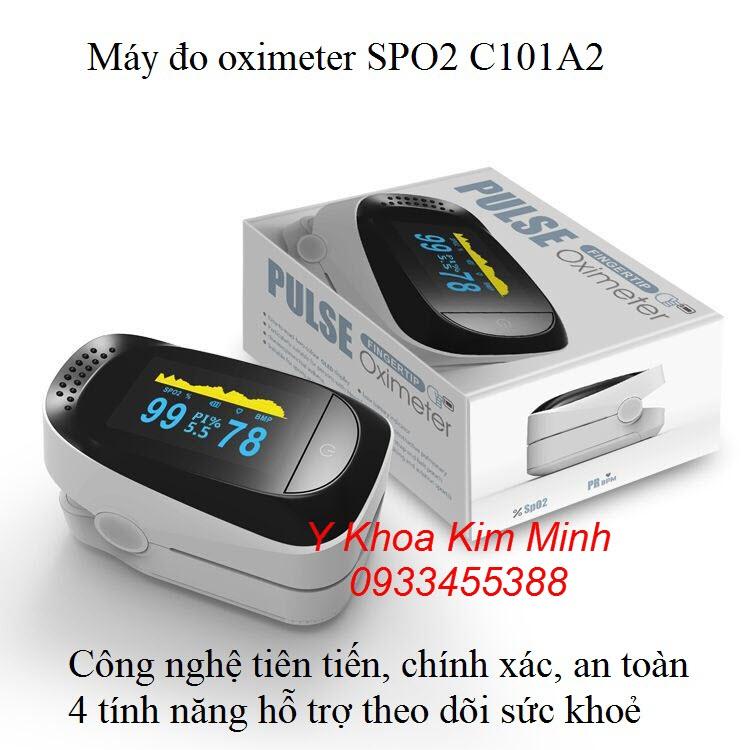 Máy SPO2 C101C2, máy đo kiểm tra độ bão hoà oxy trong máu chất lượng bán tại Tp.HCM