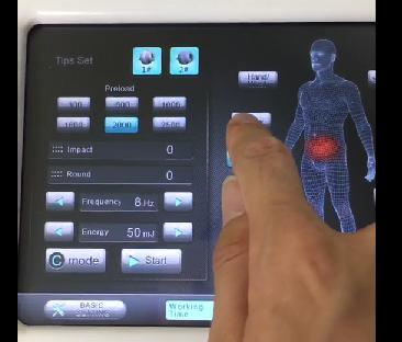 Dùng máy xung kích shockwave điều trị giảm béo - Y khoa Kim Minh