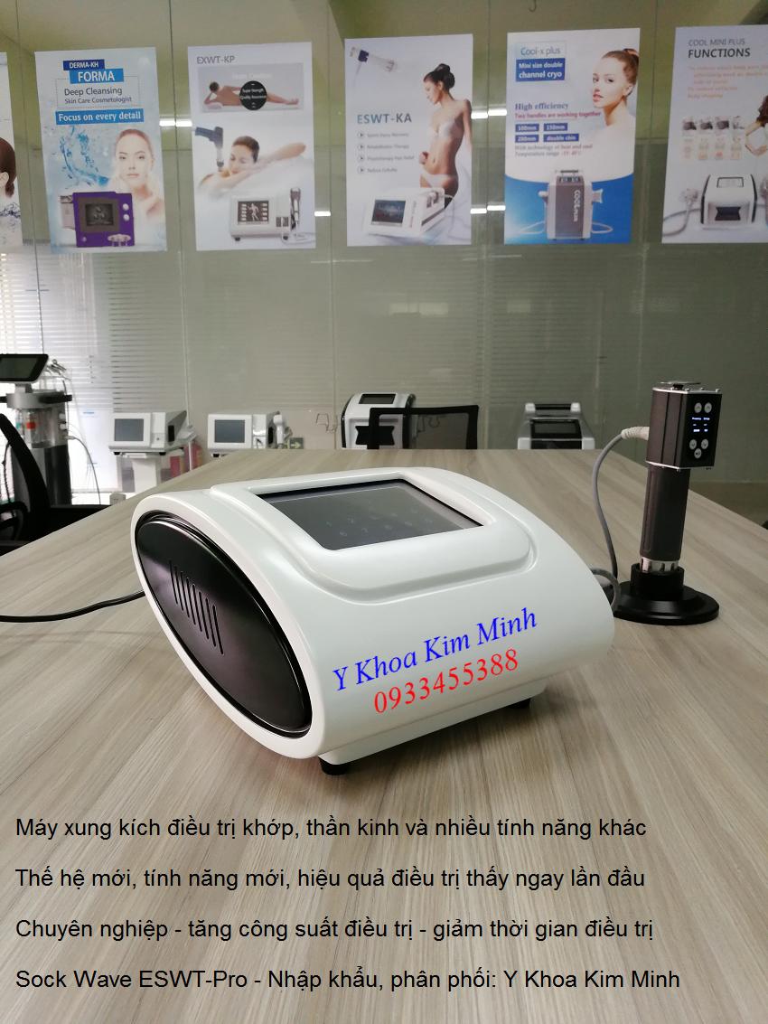 Nơi bán máy sóng xung kích ESWT-Pro tại Tp Hồ Chí Minh - Y Khoa Kim Minh 0933455388