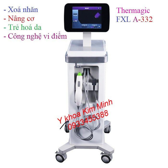 Máy trẻ hoá da mặt và body công nghệ Thermagic RF 3D FLX A-332 - Y khoa Kim Minh