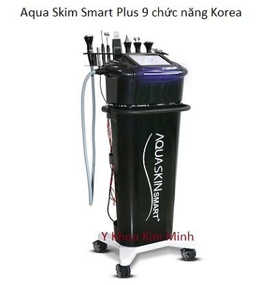 Máy Aqua Skin Smart Plus 9 chức năng Hàn Quốc - Y khoa Kim Minh