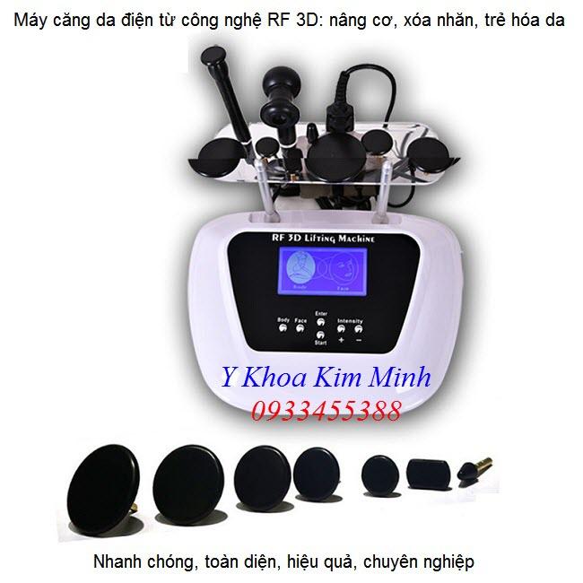May tham my dieu tri, may cang da mat RF dien tu FX-006 - Y Khoa Kim Minh
