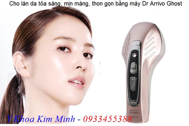 Máy chăm sóc da nhập khẩu trực tiếp từ Nhật Bản Dr Arrivo Ghost - Y khoa Kim Minh