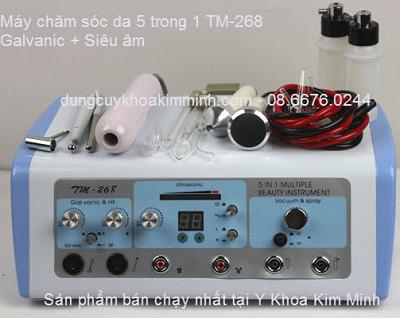 Máy chăm sóc da có chức năng galvanic chạy điện TM-268 - Y khoa Kim Minh