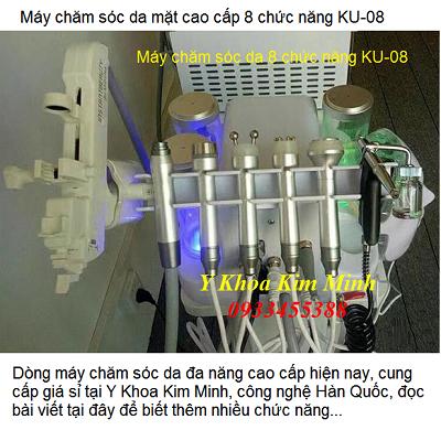 Máy chăm sóc da mặt cao cấp 8 chức năng KU-08 bán tại Tp Hồ Chí Minh - Y Khoa Kim Minh