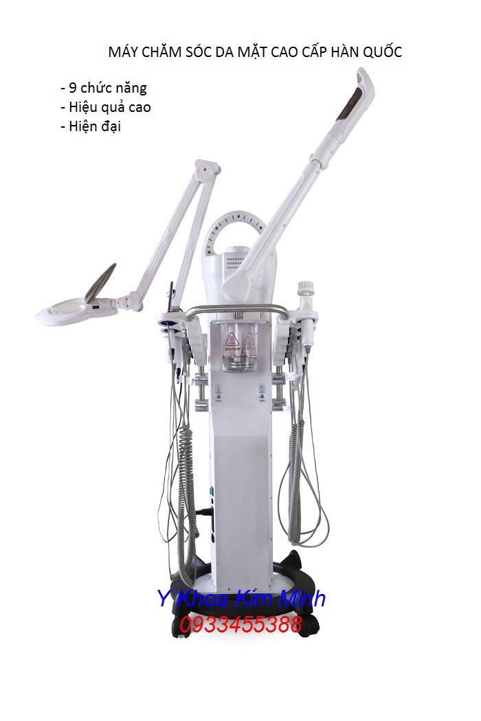 Máy thẩm mỹ cao cấp, máy chăm sóc da mặt Hàn Quốc 9 trong 1 KF-901 - Y Khoa Kim Minh